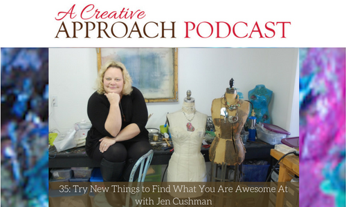 35: Try New Things to Find What You Are Awesome At with Jen Cushman